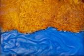 Gießen Epoxidharz Stabilisierung Noppenholz real abstrakt Kunst Hintergrund Textur