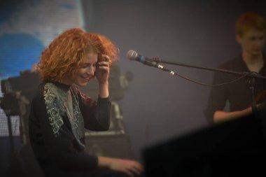 Alina Orlova at solo concert at Zaxidfest festival