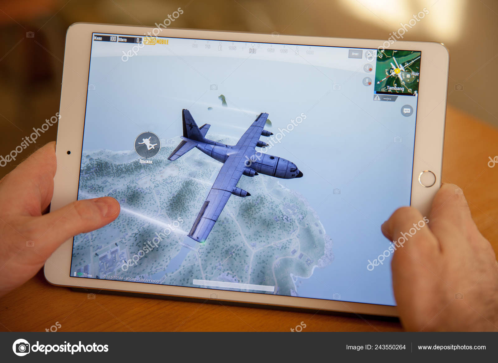 Pubg Tablet Game — Stock Photo © Ahilfoto #243550264