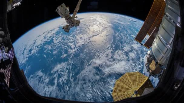 Erde betrachtet von Iss im Orbit. Erstellt von Public Domain Bilder mit freundlicher Genehmigung von Nasa Johnson Space Center