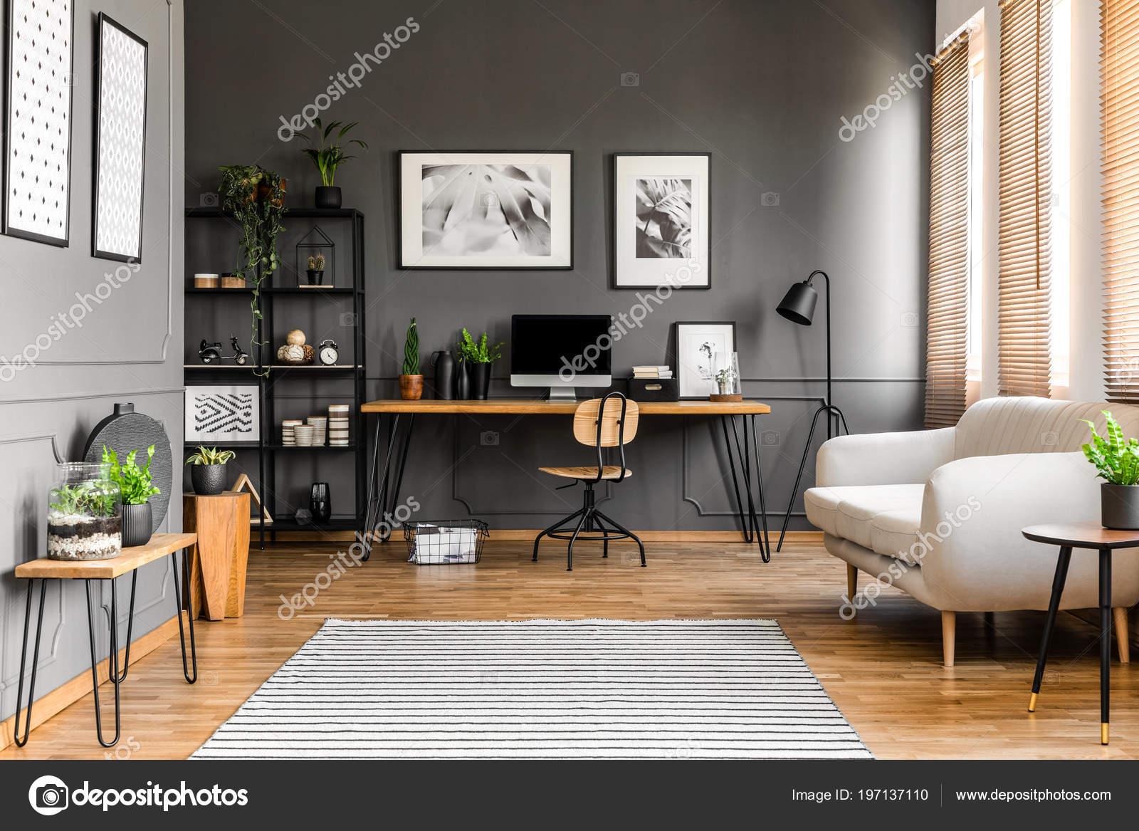 Bureau bois et blanc bureau bois design bureau design bois et