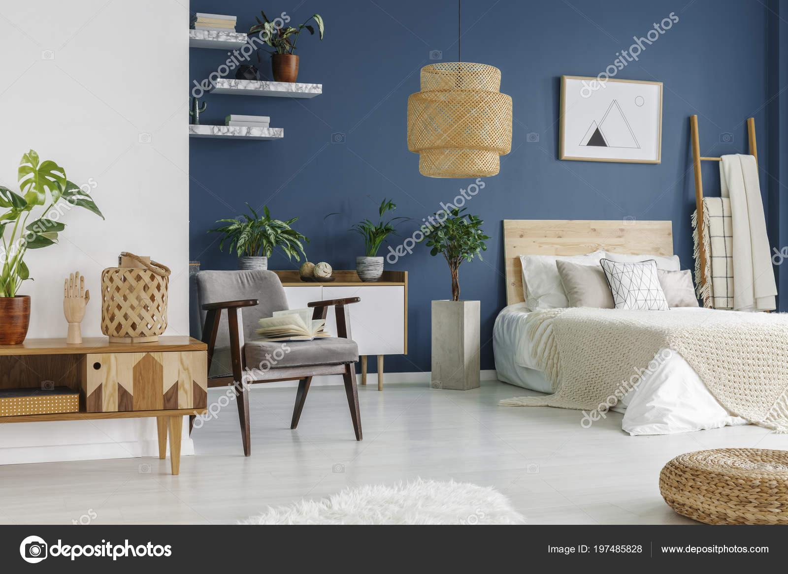 Möbel Aus Holz Und Marmor Regal Schlafzimmer Innenraum Mit ...
