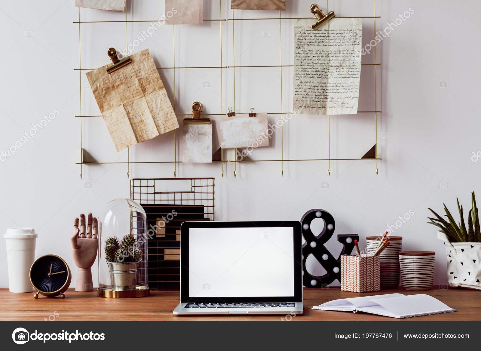 Porte stylo bureau elegant organisateur de bureau en bois ensemble