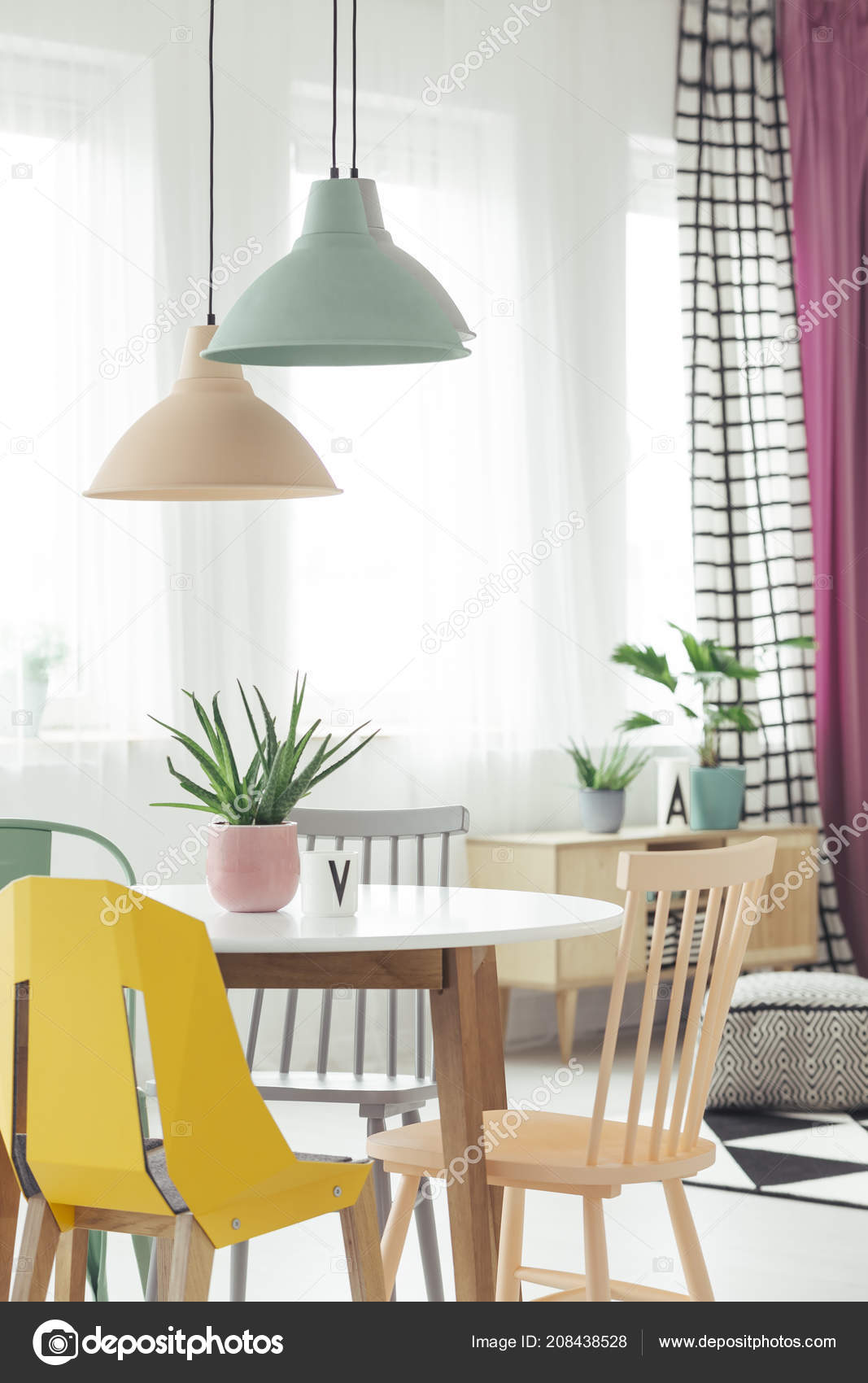 Lampade Sopra Tavolo Da Pranzo real photo pastel lamps hanging wooden dining table fresh