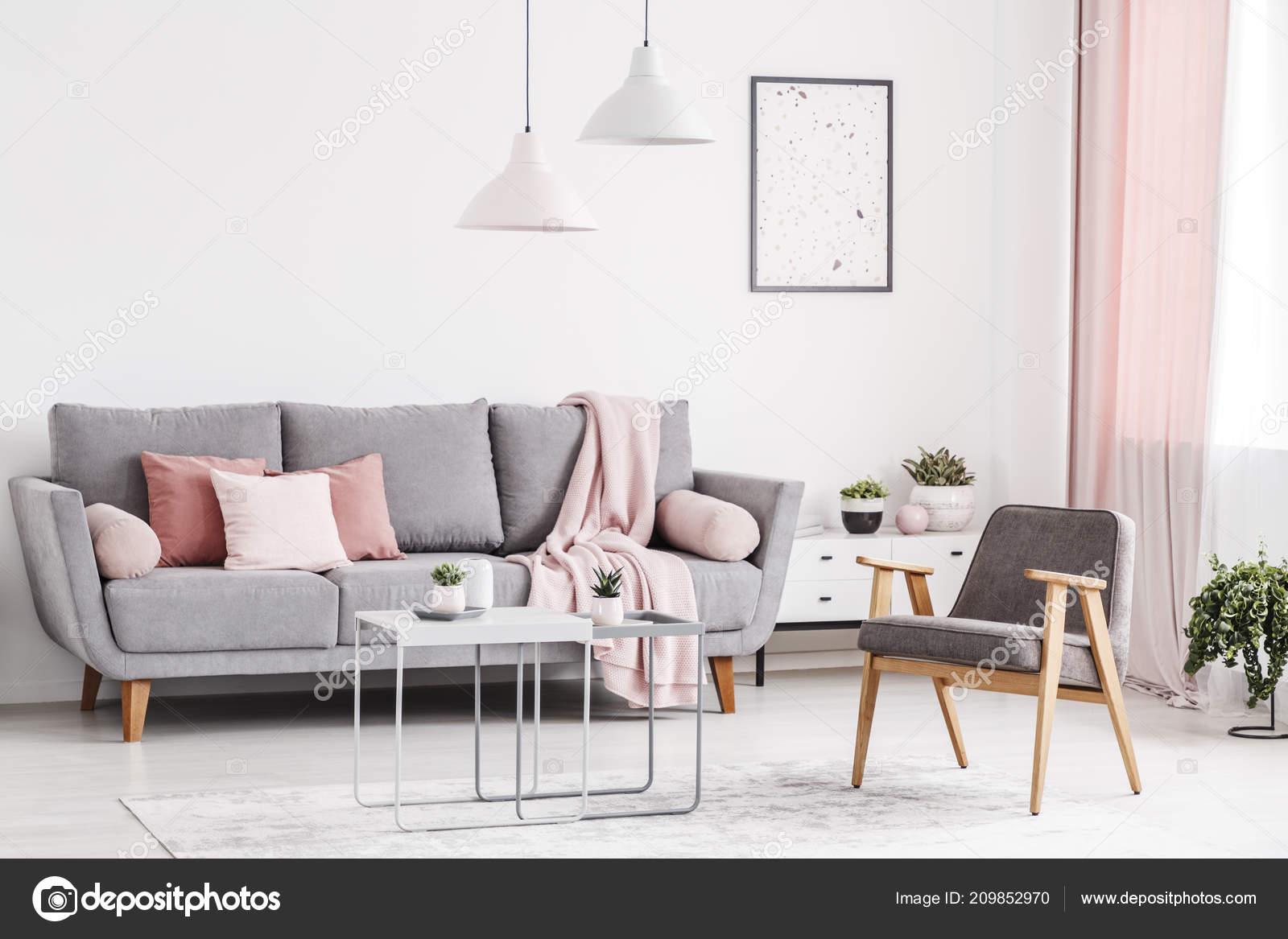 Wohnzimmer Einrichtung Grau Rosa Caseconrad Com