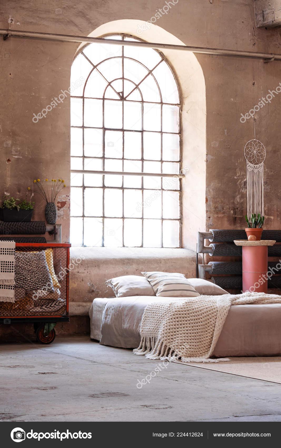 blanket bed pillows basket bright wabi sabi bedroom interior window rh depositphotos com wabi sabi bedroom furniture