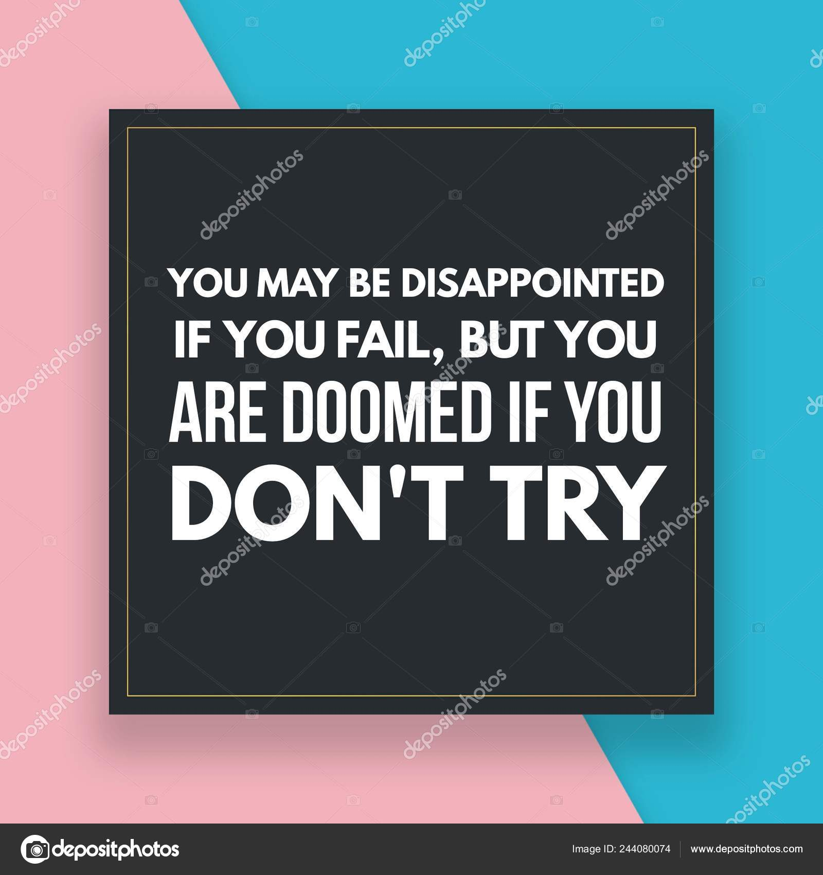 Frases Motivacionales Para Vida Diaria Foto De Stock