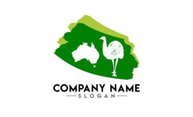 australian animal brush logo