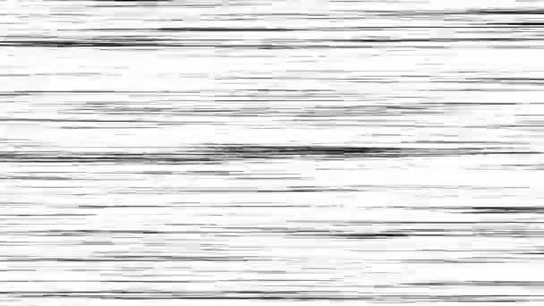 Loop animáció Comic Speed Lines. Manga frame stílus. Meglepetés.