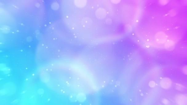 Barevný holografický gradient. Abstraktní duhové pozadí ve vícebarevné gradaci. Animace moderní smyčky.