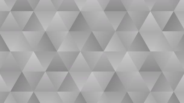 Trojúhelníkový vzorek geometrických tvarů. Abstraktní vícegonální smyčka. Monochromatické pozadí přechodu.