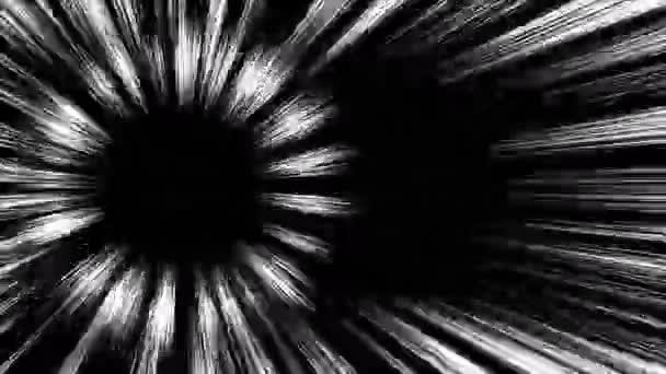 Japán képregény. Sebességvonal, effektus vonal, koncentrációs vonal. Rajzfilm koncentrált vonal hurok animáció. Manga sebességkeret. Fekete-fehér sugárvonalak. Nagysebességű.