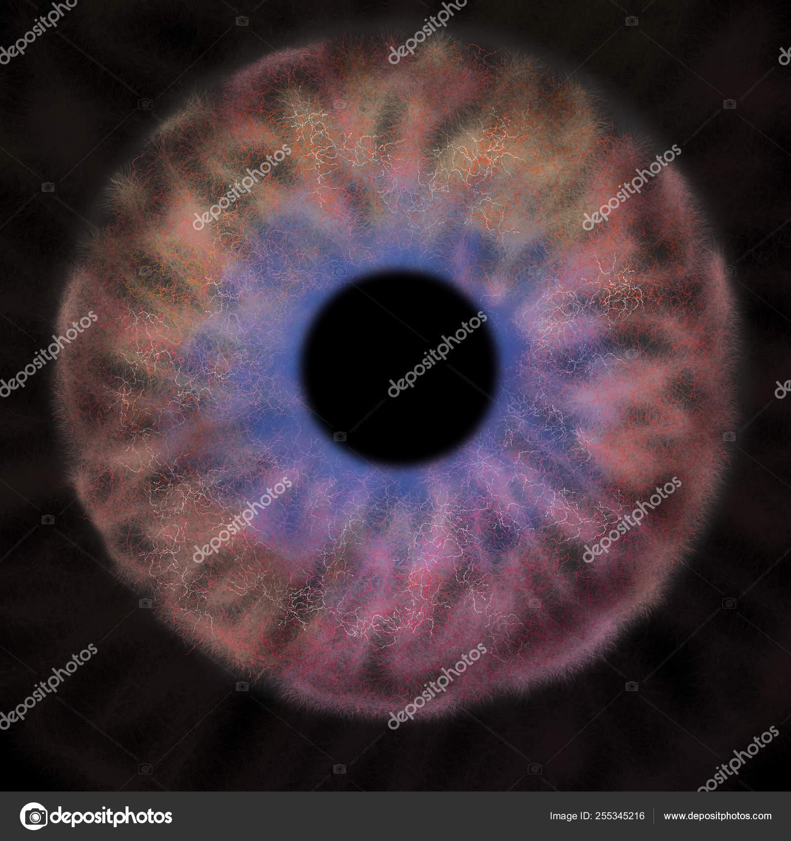 depositphotos 255345216 stock photo iris background black hole