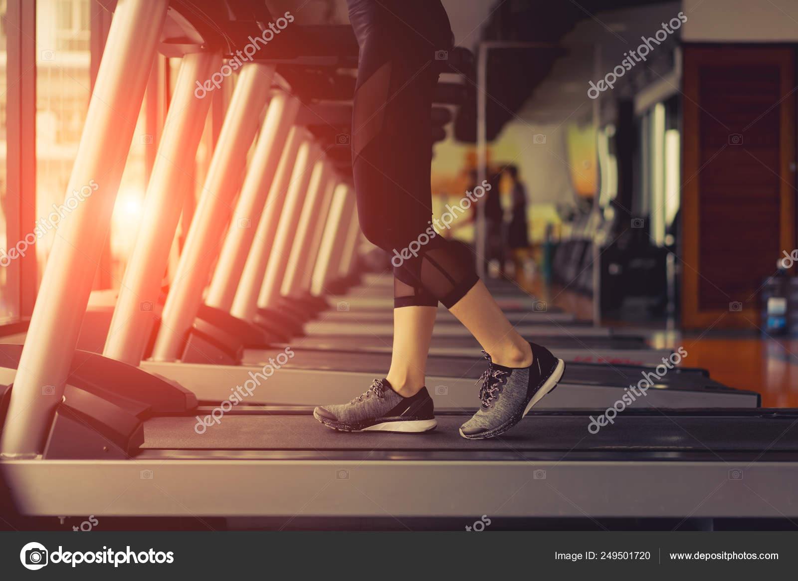 gimnasio de entrenamiento de cardio de pérdida de peso