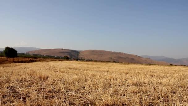 felvétel, nyugodt táj, gyönyörű völgy és a hegyek
