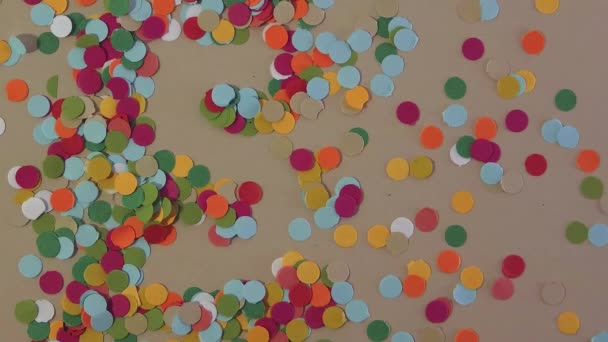 Confetti Number Five Background