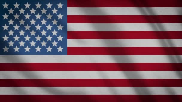 Video of USA Flag Background