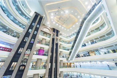 HONG KONG - AUGUST 12: Times Square is a major shopping centre o