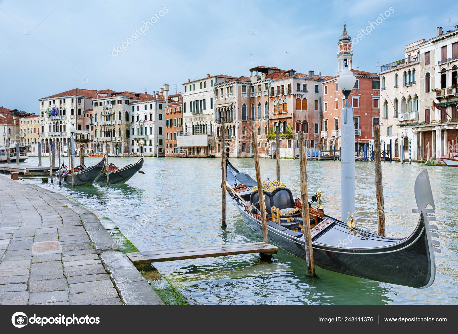 Venice Italy Background Wallpaper Close Stock Photo