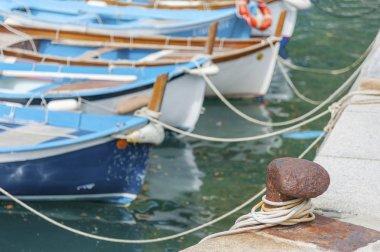 Yacht Tied To moor in Pier