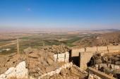 Fényképek A Mount Bental a Yom Kippur háború Izrael Golán az izraeli és a szíriai vidékre néző erődítmények