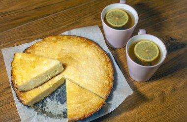 cottage cheese casserole,curd dessert,Cheesecake