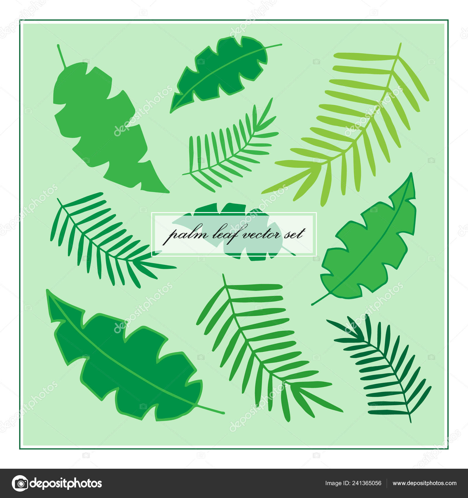 Palm Leaves Vector Set Tropical Palm Leaf Icon Vector Illustration Stock Vector C Kiki Vagnerova Gmail Com 241365056 Choose from over a million free vectors, clipart graphics, vector art images, design templates, and illustrations created by artists worldwide! palm leaves vector set tropical palm leaf icon vector illustration stock vector c kiki vagnerova gmail com 241365056
