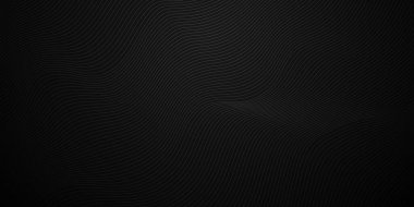 Modern wave stripes on white background Abstract Vector Illustration
