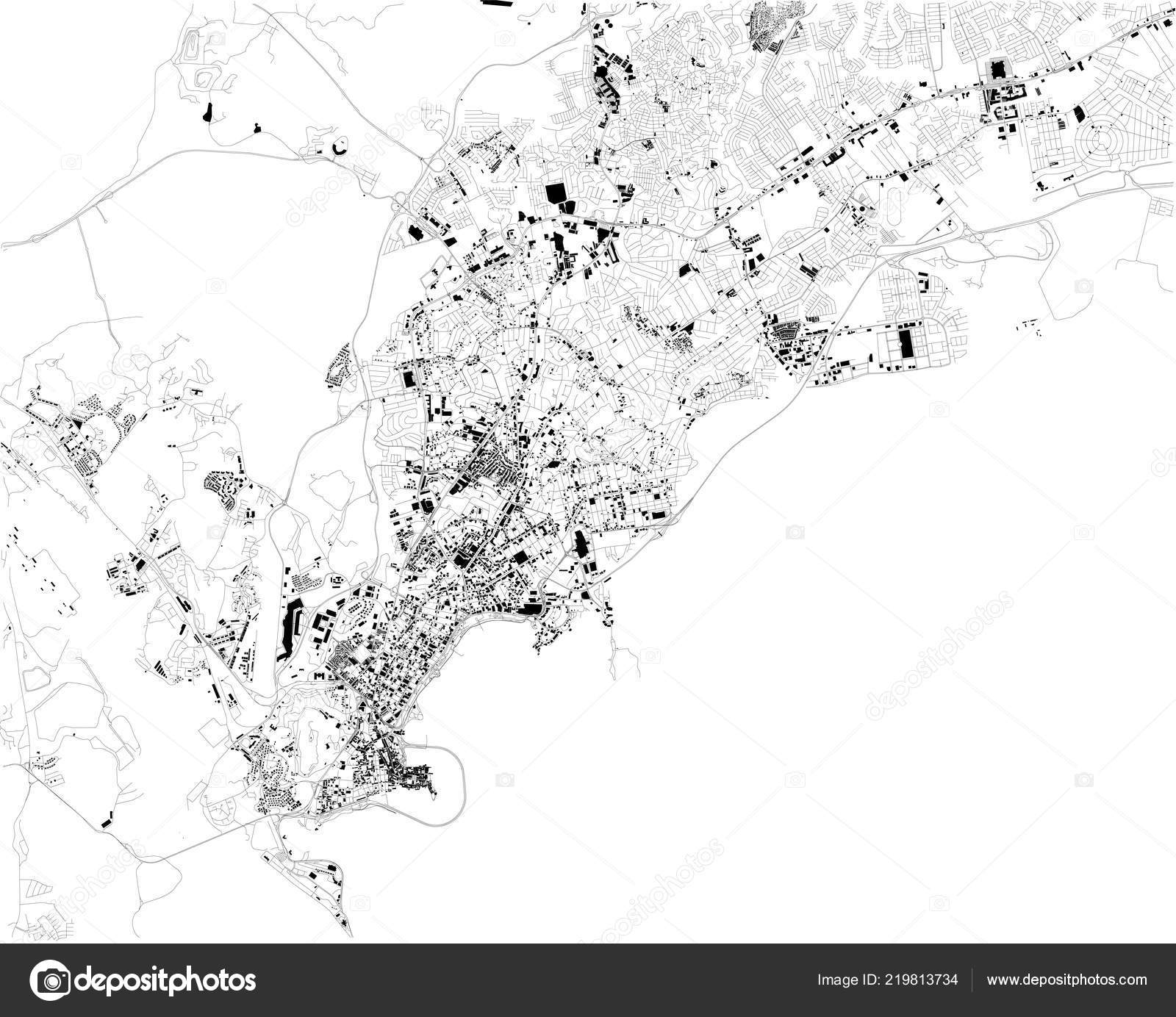 Satellite Map Panama City Panama City Streets Street Map ...