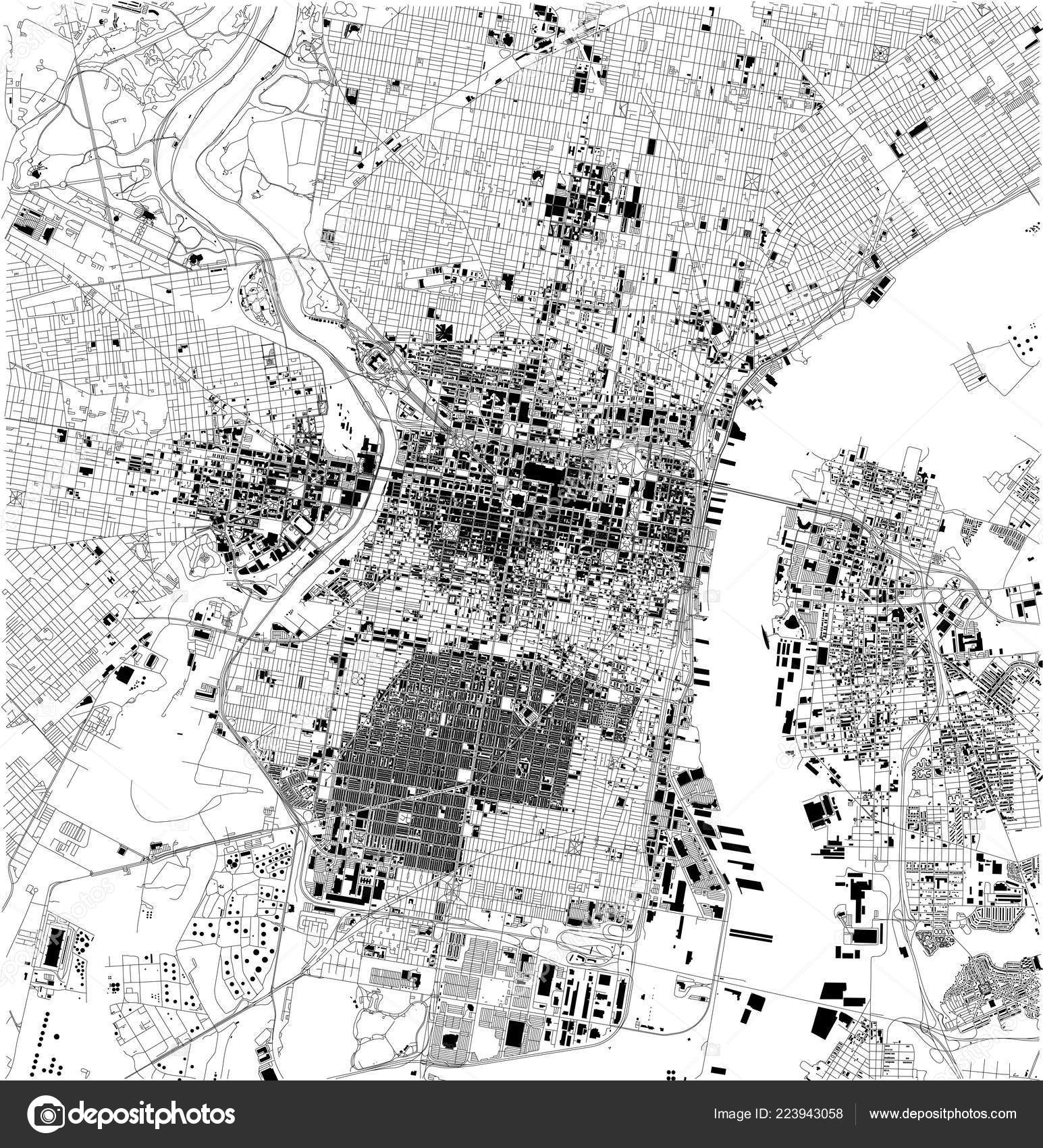 Satellite Map Philadelphia Philly Pennsylvania City Streets ... on black and white portraits of women, latitude and longitude of usa, black and white map of asia,