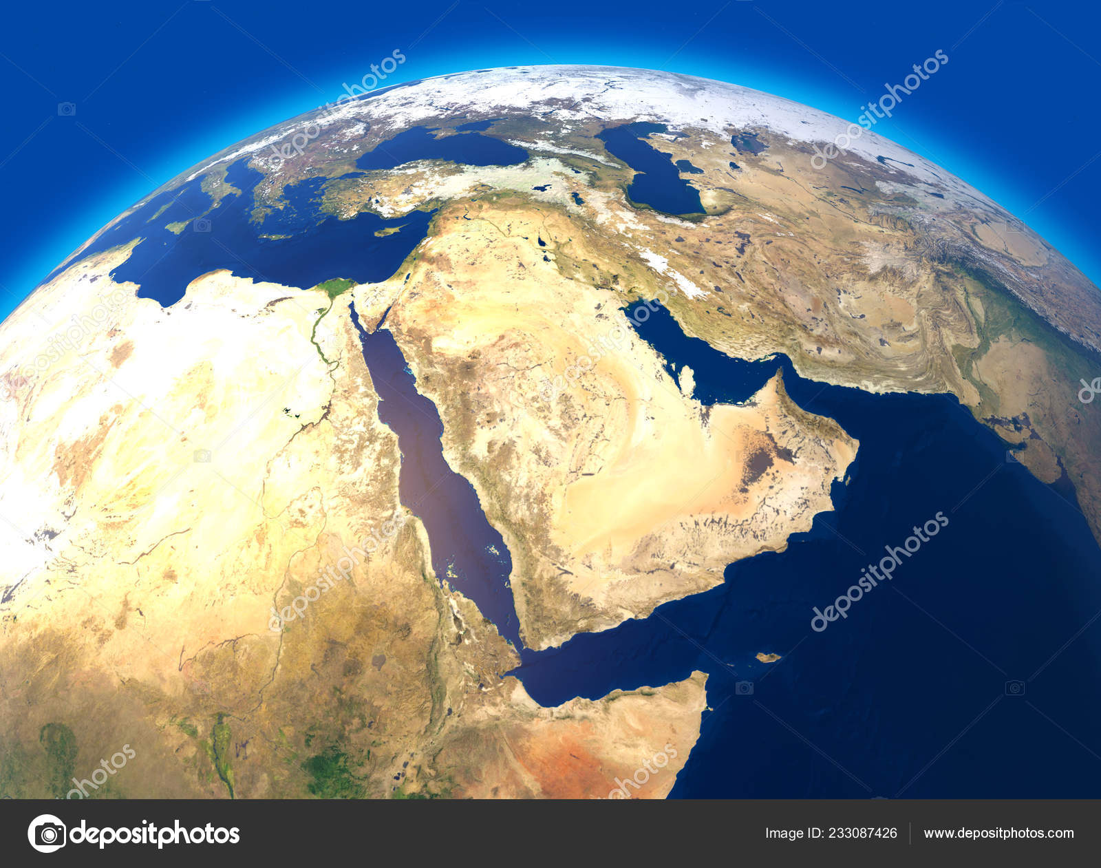 Map Of The World Globe View.Physical Map World Satellite View Middle East Africa Asia Globe