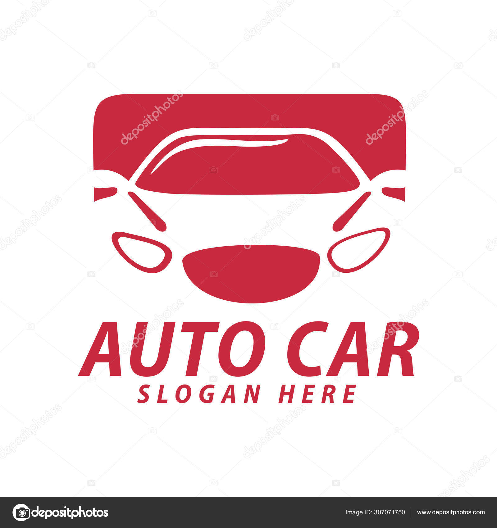Automotive Car Repair Garage Logo Design Concept Template Stock Vector C Stwst 307071750