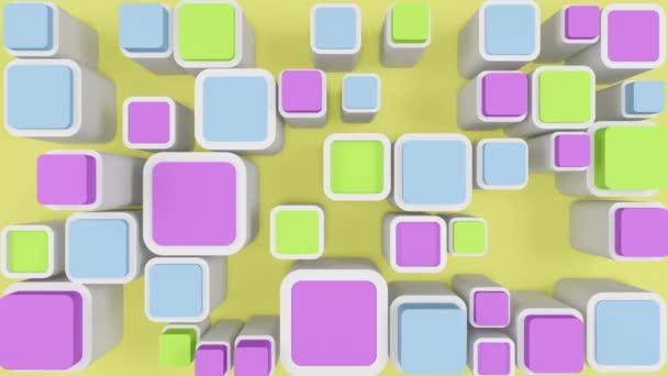 abstrakter Hintergrund bunte Quadrate
