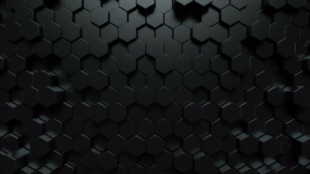 dunklen Sechsecken abstrakten Hintergrund