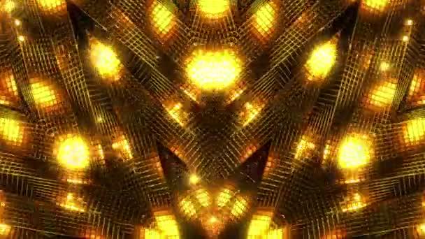 Zlaté geometrie abstraktní pozadí