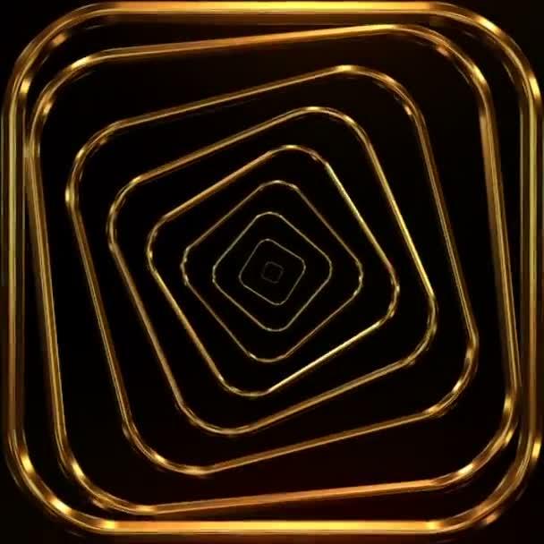 Arany minták animációs háttér