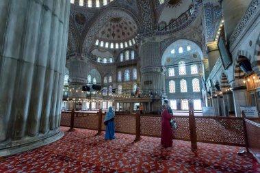 İç Sultanahmet Camii, İstanbul.