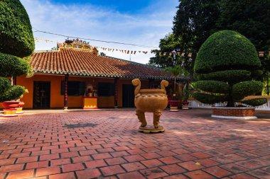 Giac Lam pagoda facade, Ho Chi Minh City (Saigon), Vietnam.