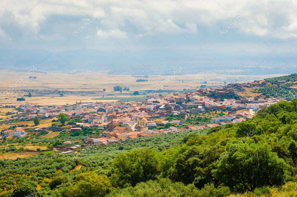 Puebla de Alcocer , in Province of Badajoz, Extremadura, Spain