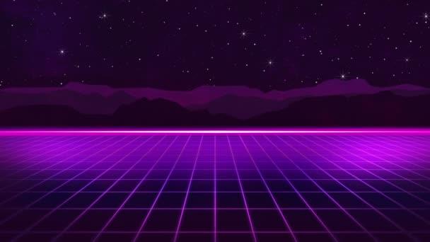 80er Jahre Retro-Hintergrund Hd