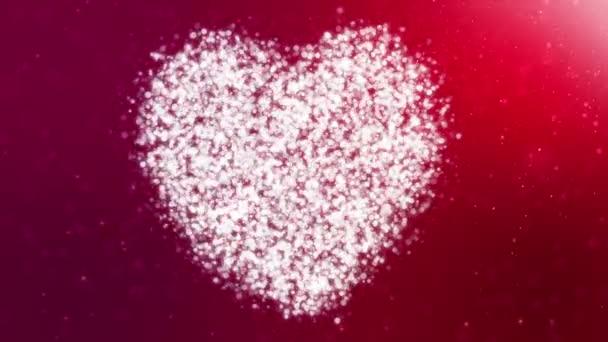 srdce částice Hd pozadí