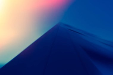 colorful abstract background, dynamic and associative color composition of the pyramid