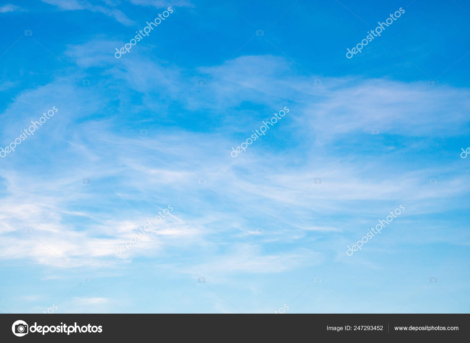 Sky Full Moving Clouds Feel Free Enthusiastic Beautiful Color Shade Stock Photo C 3asy60lf 247293452