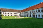 Kloster Wessobrunn, ein Benediktinerkloster bei Weilheim in Bayern, Deutschland.