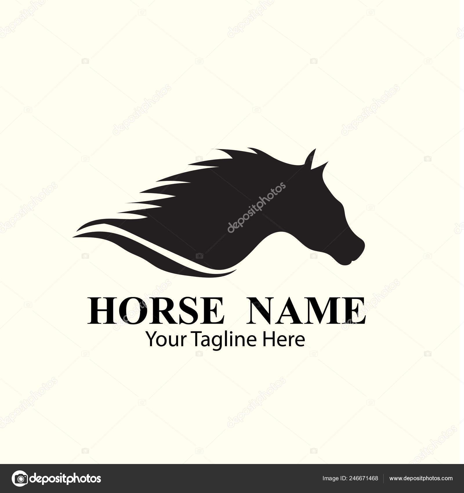 Horse Logo Designs Concept Stock Vector C Onenine19 246671468