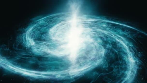 4k closeup footage. Space exploration. The motion of the galaxy along its trajectories.