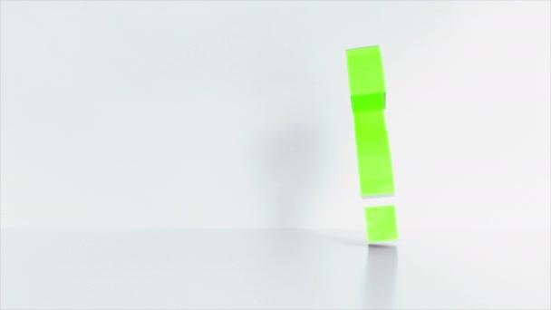 otazník barevné pozadí konceptu. 3D vykreslování.
