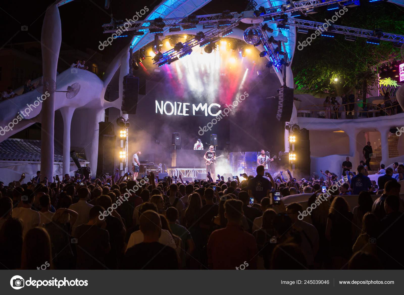 Odessa Ukraine July 2018 Ibiza Night Club Famous Russian Rap – Stock