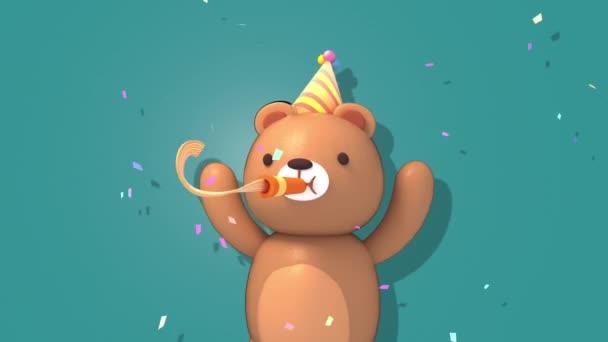 3d party bear