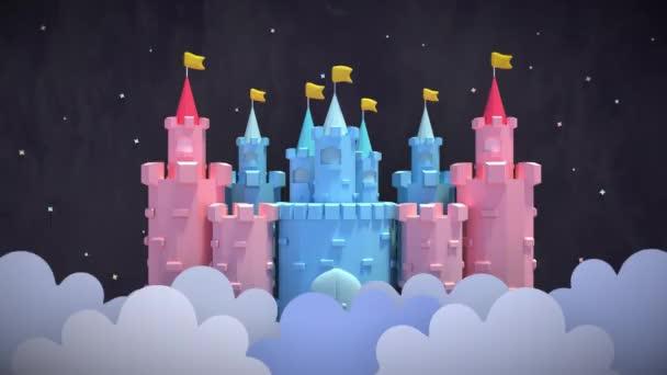 Castello di cartone animato
